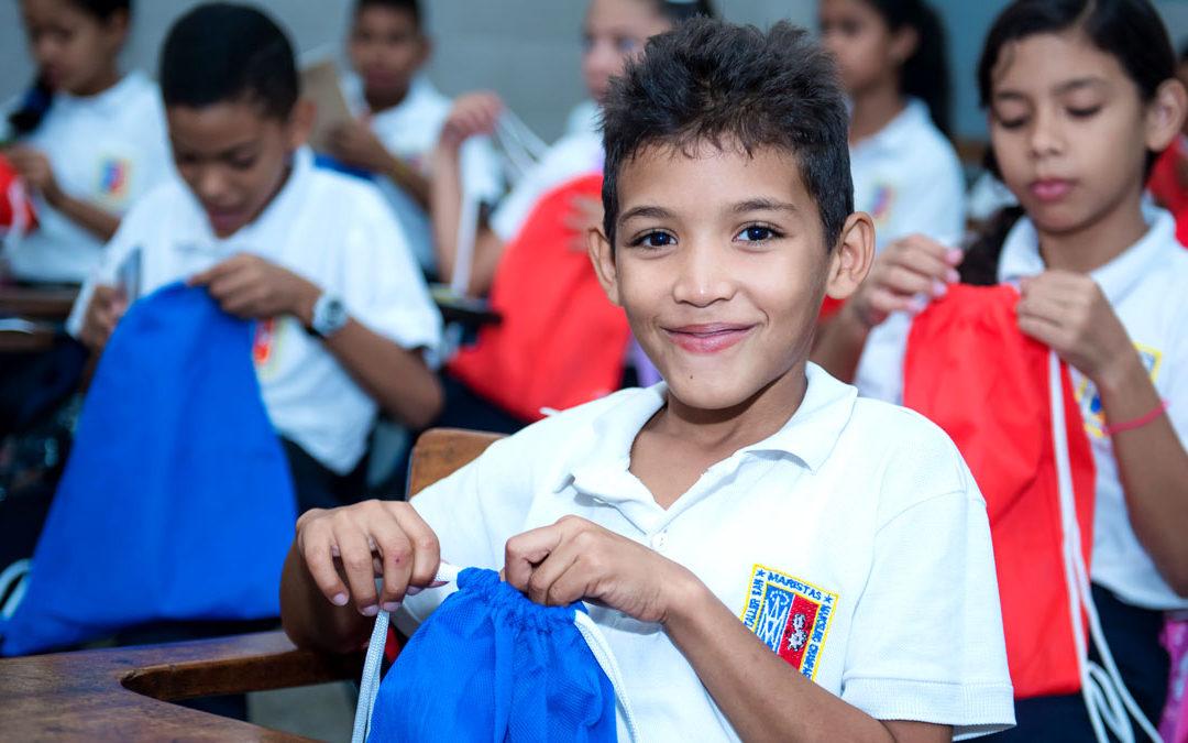 Juntos en el regreso a clases con la Escuela San Marcelino Champagnat