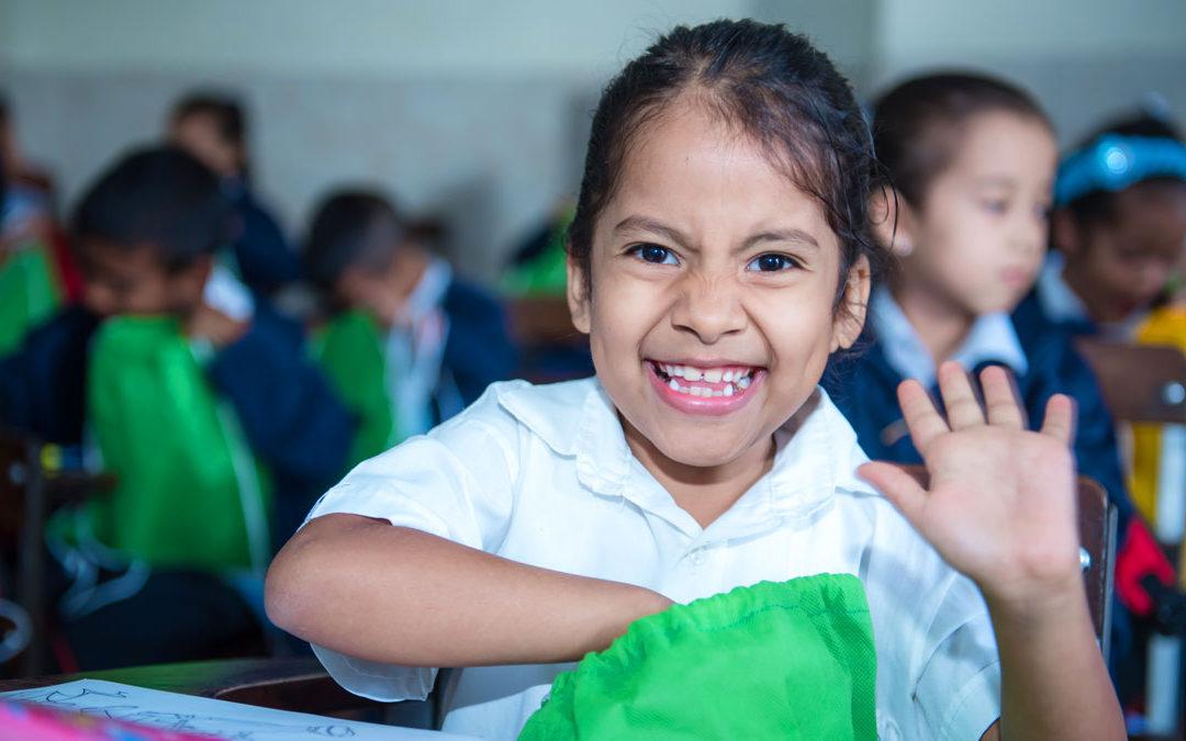 Alegramos el regreso a clases de niños de la Escuela Canaima