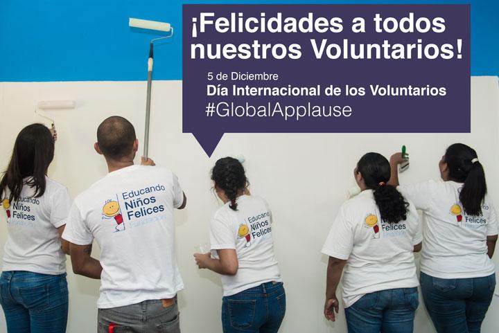 ¡Viva voluntarios!