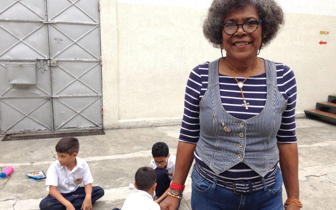 Mireya Brito: el colegio es un lugar de paz