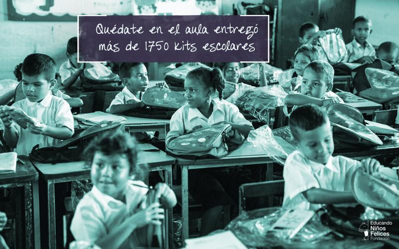 Quédate en el aula: la escuela es una fábrica de sueños.
